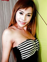 Horny ladyboy with a fantastic body