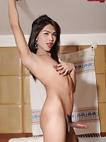 Meay is a slender and beautiful ladyboy from Phucket. She works at Temptation Bar, which is a perfect match for her seductive personality.