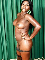 Thick black T-Girl!