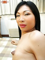 Ladyboy Luk is a former Tiffany showgirl with a banging body! She\'s a very shy girl who needs a little bit of coaxing, but there is a wild beast within!