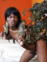 Nila is a beautiful 19 year old ebony tranny who always delivers a huge cum shot at the end of jacking off!